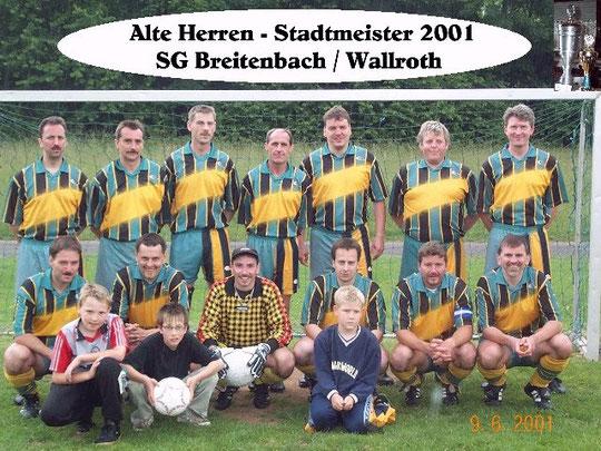 hinten rechts: Werner Bensing, Volker Schultheis, Peter Simon, Holger Hommel, Jörg Schütz, Heinz Müller, Axel Wagner vorne rechts: Harald Seelig, Michael Sacher, Uwe Knöll, Ralf Triebensky, Frank Richter, Bernd Leipold
