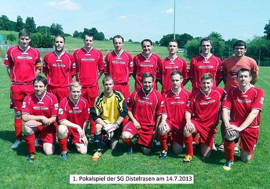 1. Seniorenmannschaft im Pokal