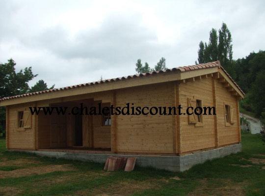 maison Jade 70m² bois massif
