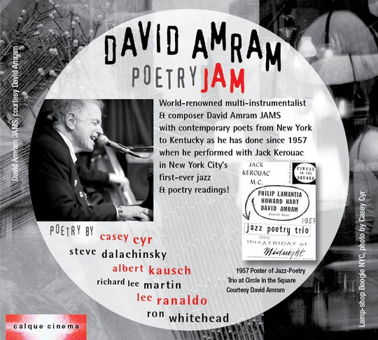 DAVID AMRAM POETRY JAM CD