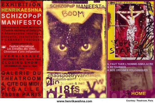 Exhibition HENRIK AESHNA & SCHIZOPoP MANIFESTO