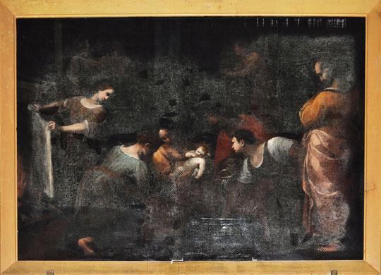 Vico - Eg. de l'Assomption - Naissance de St Jean (Legs Fesch)