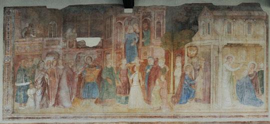 Andrea di Firenze - Conversion de Rainier- Pise Campo Santo