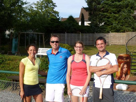 v.l. Marie-Carmen, Martin, Sandra und Matthias