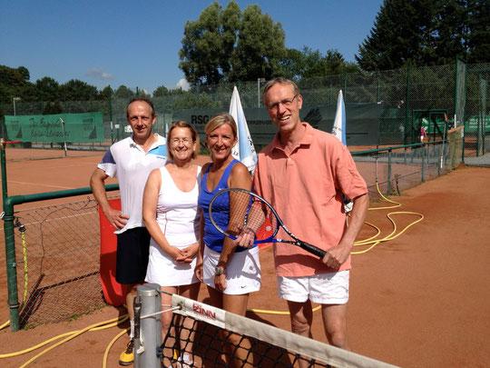 v.l. Joachim, Silvia, Heike und Andreas