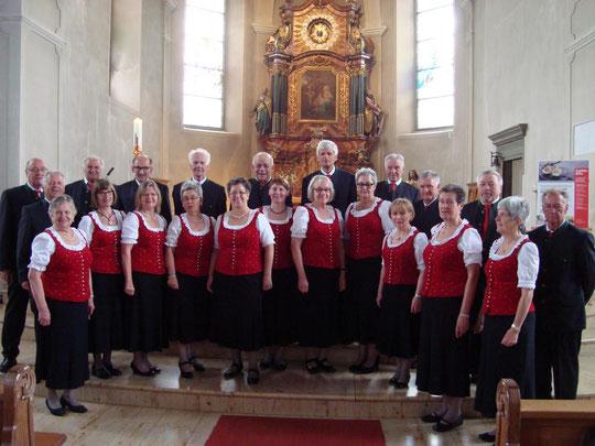 """Chor """"Vocalklang"""" der Steirer in der Wallfahrtskirche Maria Bildstein"""