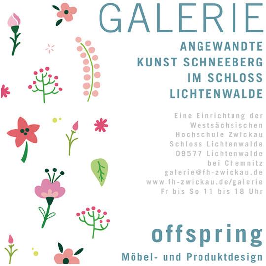 Offspring Ausstellung, Möbel- und Produktdesign, Galerie Lichtenwalde, Angewandte Kunst Schneeberg
