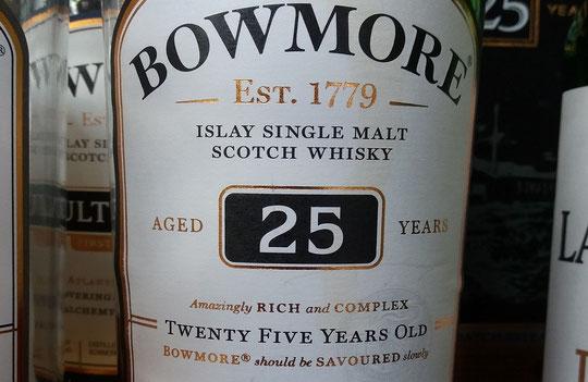 Bowmore 25 Jahre - Foto Ralf Zindel