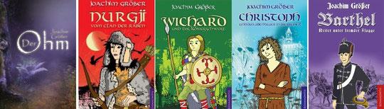 Meine Kinder- und Jugendbücher - erschienen im Rosamontis Verlag.