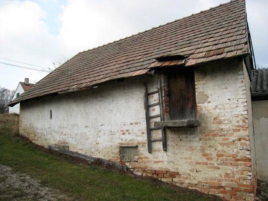 Untere Kellergasse - Presshaus von Aloisia Bogner
