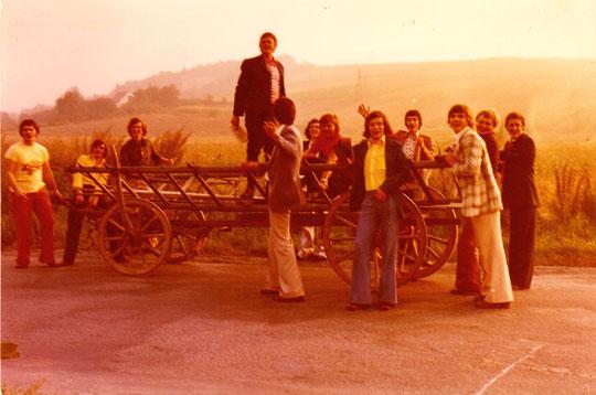 Anfang der 70er Jahre - Maibaumholen oder Burschen-Kirtag?