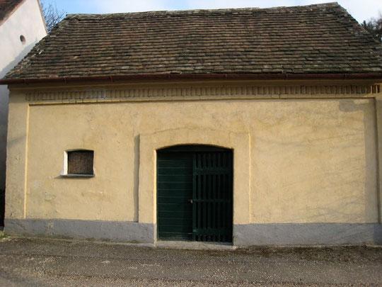 Boentweg - Presshaus von Klara u. Christian Buchta (vormals Franz Bittenauer)