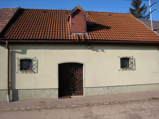 Obere Kellergasse - Presshaus von Josef Strobl (vormals Oswald Scheiner)