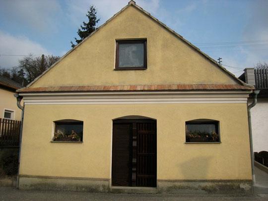 Boentweg - Presshaus mit Baumpresse von Franz Hauser jun.