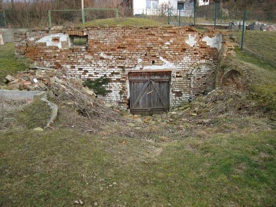 Maria Bründl-Weg - Presshaus (verfallen) von Erich Steingassner (vormals Bösmüller Käthi)