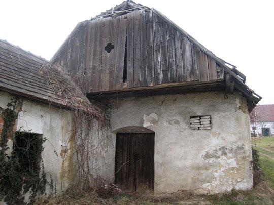 Untere Kellegasse - Presshaus von Gerhard Baumgartner (vormals Kerzendorfer)