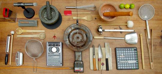 das Instrumentarium ist vorbereitet