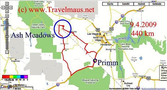 10.4.2009 Primm - Primm 440 km