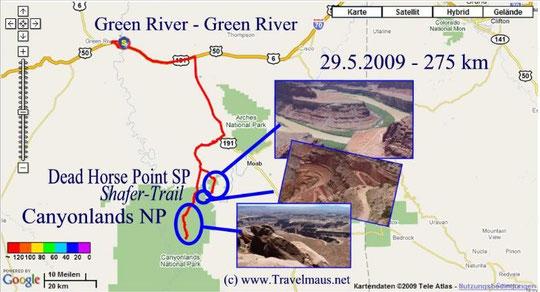 29.5.2009 Green River - Green River 275 km