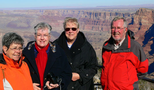 4 Travelmäuse am Grand Canyon