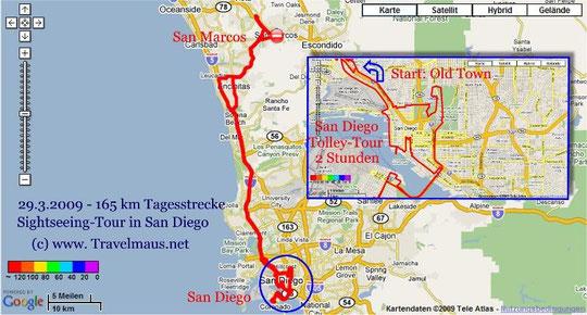 29.3.2009 San Marcos -San Diego-San Marcos 165 km
