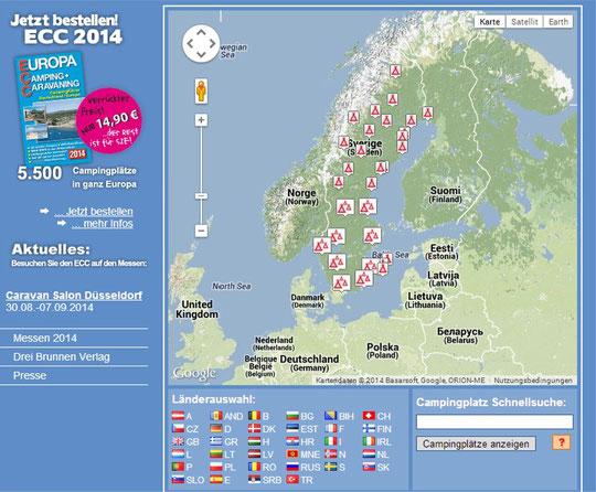 Link: ECC-Campingplätze Schweden