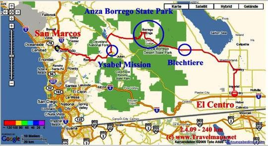 2.4.2009 San Marcos - El Centro 240 km