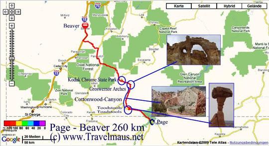 21.5.2009 Page - Beaver 260 km