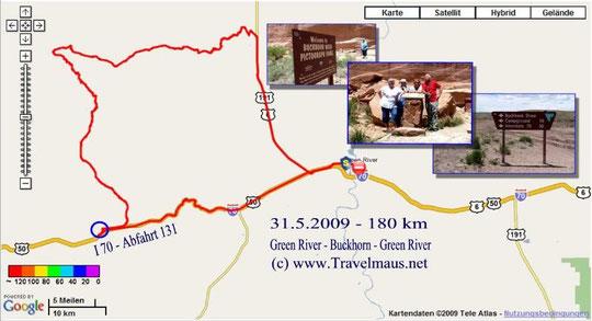 31.5.2009 Green River - Green River 180 km