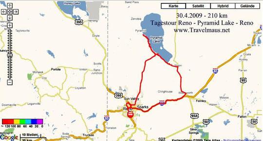 30.4.2009 Reno - Reno 210 km