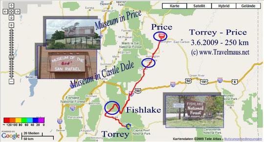 3.6.2009 Torrey - Price 250 km