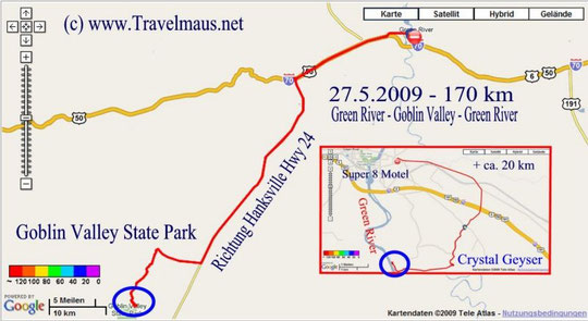 27.5.2009 Green River - Green River 170 km