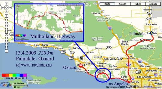13.4.2009 Palmdale - Oxnard 220 km