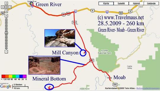 28.5.2009 Green River - Green River 260 km