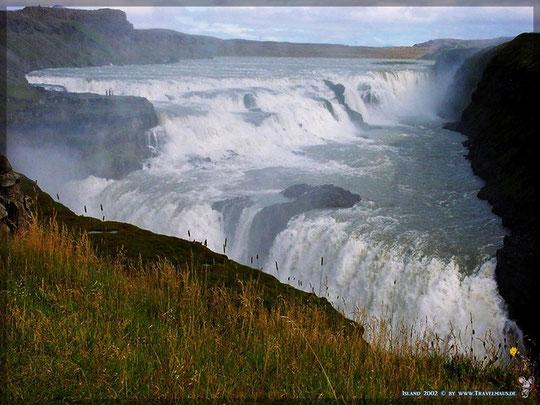 Island: Gullfoss 2002 [Foto © Travelmaus.de]