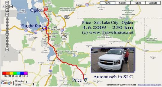 4.6.2009 Price - Ogden 250 km