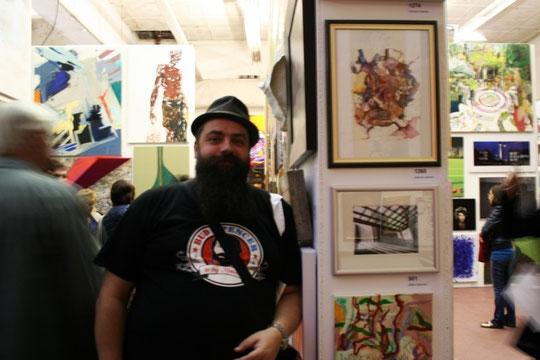 Macht Kunst - mein erstes Bild in einer Galerie!