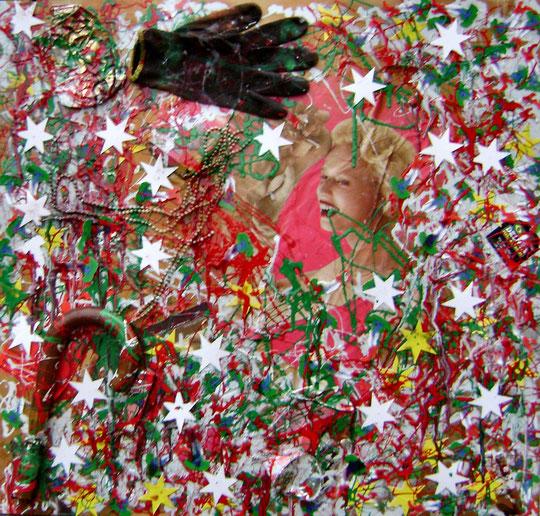 """""""Il guanto di sfida di Italia"""" cm 67x70-2011"""