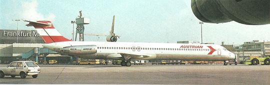 Austrian stützten ihr Wachstum in den 1980ern mehrheitlich auf die MD-80-Serie/Courtesy: Austrian