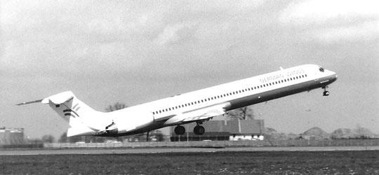 Laut Informationen auf der Rückseite der erste kommerzielle Abflug/Privatsammlung/German Wings