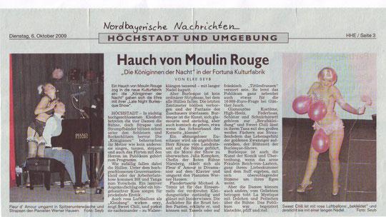 Nordbayerische Nachrichten, 06.10.09