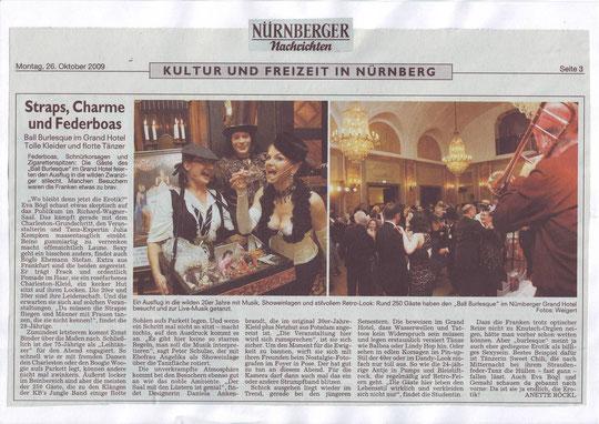 Nürnberger Nachrichten, 26.10.09