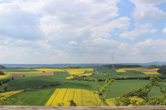 Wunderschöne Landschaften laden zu Wanderungen und Fahrrad fahren ein!