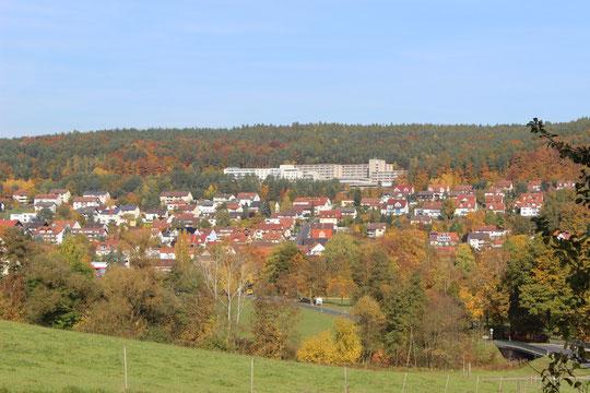 Bad Bocklet - eine Landschaft wie im Bilderbuch!