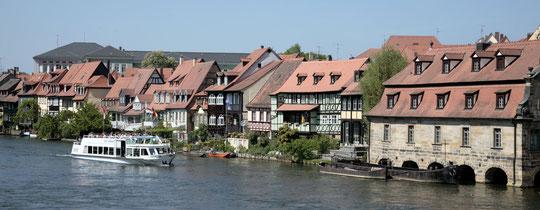 "Bamberg "" Klein Venedig "" -  Quelle:  Archiv des Bambeg Tourismus & Kongress Service"