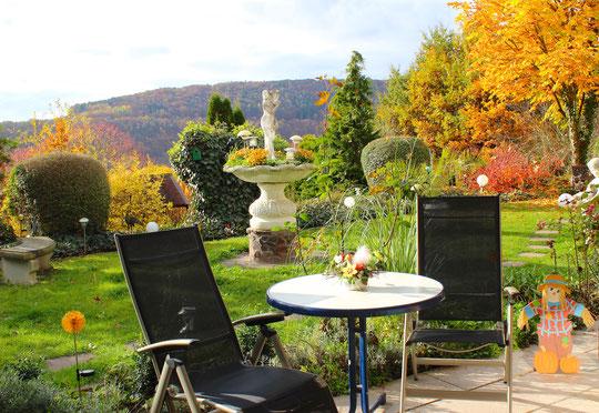 Auch im Herbst ist es wunderschön!