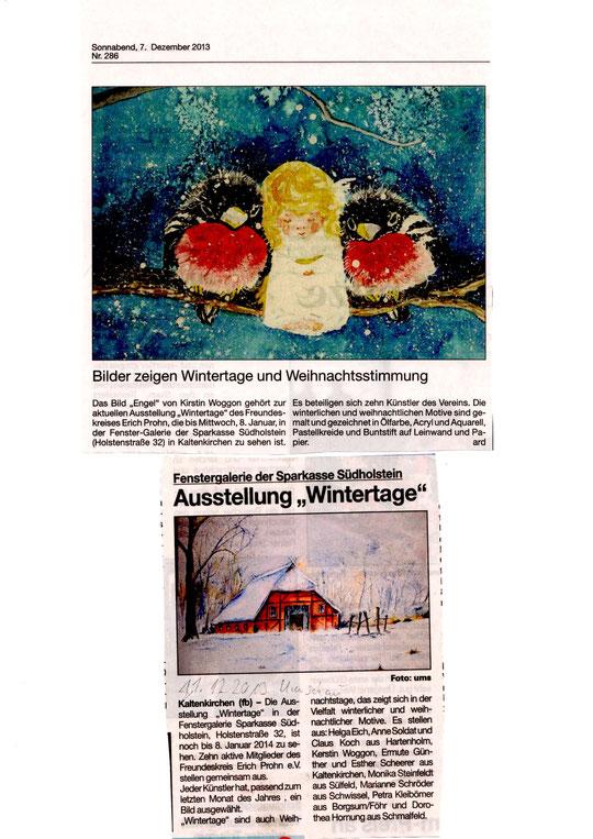 Ausstellung Wintertage
