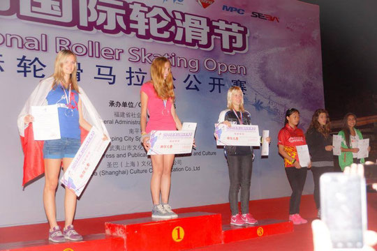 Classic Senior Women podium by Chiu Yin-Hsuan