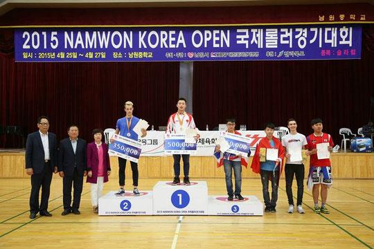 Battle podium Namwon 2015 by Carroll Wong
