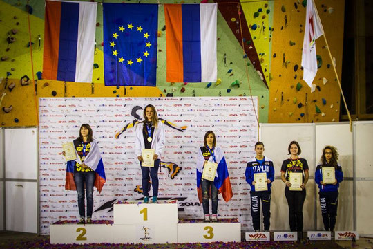 2014 WFSC Freestyle Slides Women's podium by Denis Shirobokov
